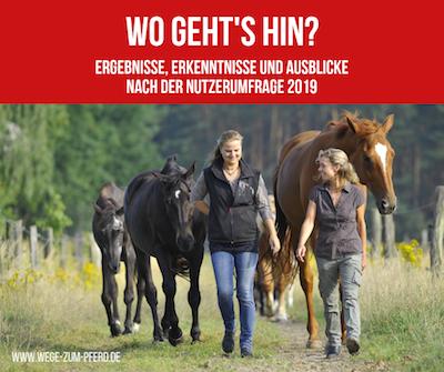 Ergebnisse der Nutzerumfrage von Wege zum Pferd