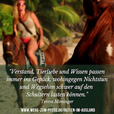 Reiten im Ausland – Wege zum Pferd